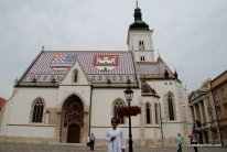 Church of St. Mark, Zagreb, Croatia