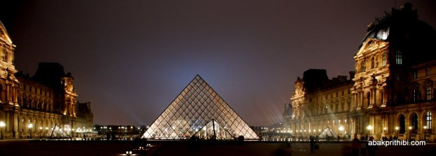 Louvre Pyramid, Louvre Palace, Paris (2)