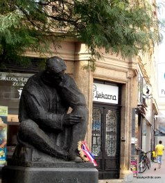 Nikola Tesla Statue, Zagreb, Croatia (1)