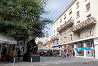 Nikola Tesla Statue, Zagreb, Croatia (2)