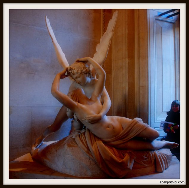 Psyche Revived by Cupid's Kiss, Louvre Museum , Paris