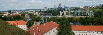 View from Gediminas' Tower, Vilnius, Lithuania (3)