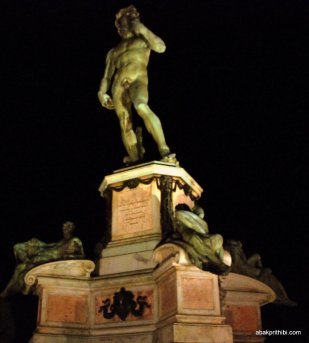 Replica of David, Michelangelo Square, Florence, Italy (6)