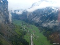 Stechelberg viewed from Cable car, Switzerland (3)