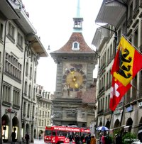 The Zytglogge's west façade