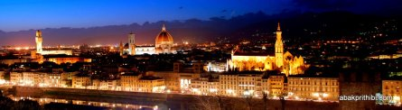 View from Michelangelo Square, Florence, Italy (3)