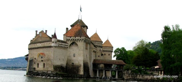 Château de Chillon from the south