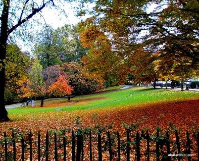 Park near EU Commission and European Parliament, Brussels (1)