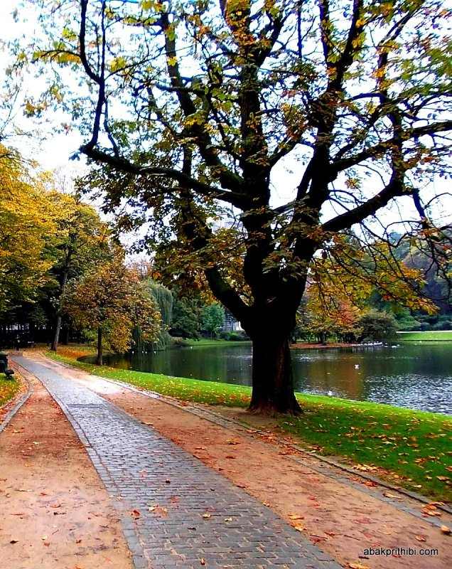 Park near EU Commission and European Parliament, Brussels (4)