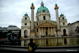 Karlskirche, Vienna, Austria (5)