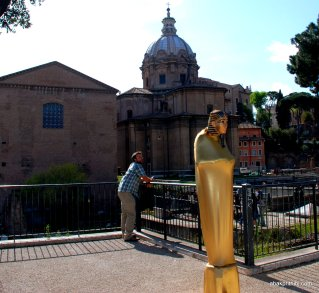 Living Sculpture in Europe - Rome (6)