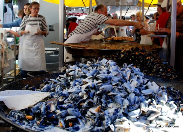 Mussel in Toulouse Market