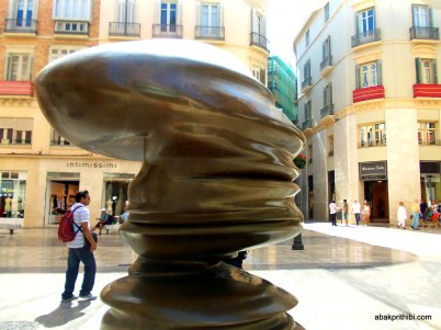 Sculptures in Europe - Malaga(9)