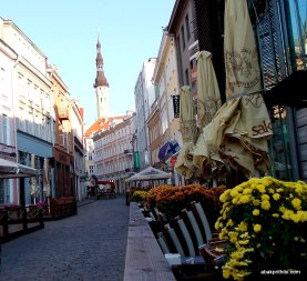 Tallinn Town Hall square, Estonia (1)