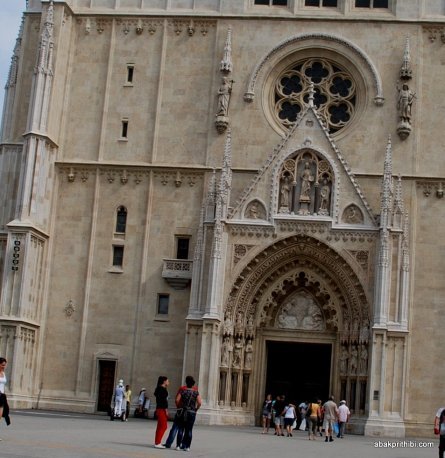 Zagreb cathedral door (1)