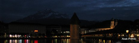 A Swiss Evening , Lucerne, Switzerland (1)