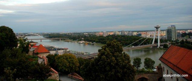 The Danube in Bratislava, Slovakia