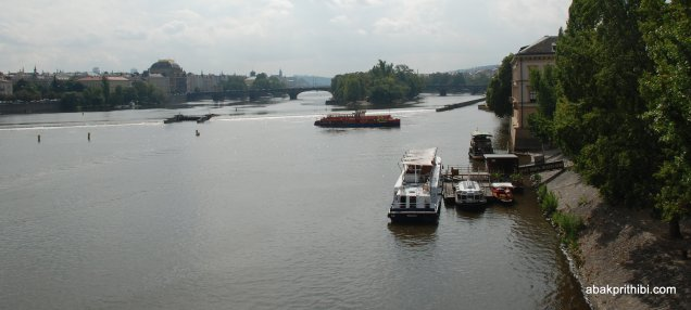 The Vltava river, Czech Republic (2)