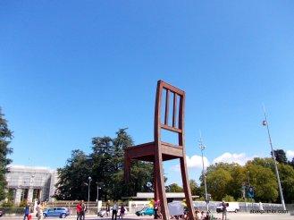Broken Chair, Geneva, Switzerland (1)