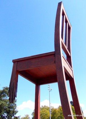 Broken Chair, Geneva, Switzerland (2)