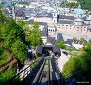 Festungsbahn funiculars, Salzburg (1)