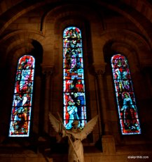 Stained Glass, Albi Cathedral, France
