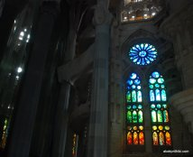 Stained Glass, Sagrada familia, Barcelona, Spain (1)