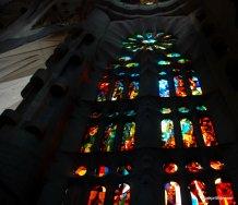 Stained Glass, Sagrada familia, Barcelona, Spain (2)