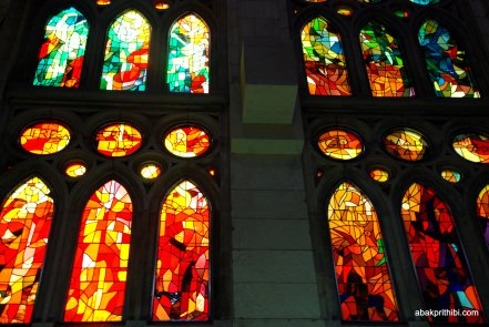 Stained Glass, Sagrada familia, Barcelona, Spain (3)