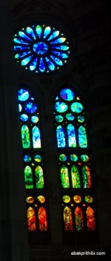 Stained Glass, Sagrada familia, Barcelona, Spain (4)