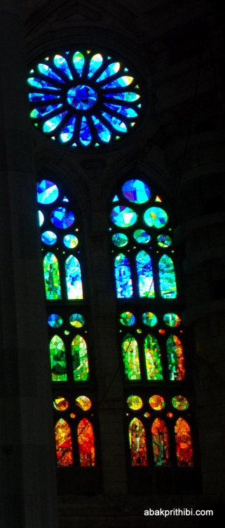 Stained Glass, Sagrada familia, Barcelona, Spain (4)