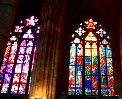 Stained Glass, St. Vitus Cathedral, Prague Castle (1)