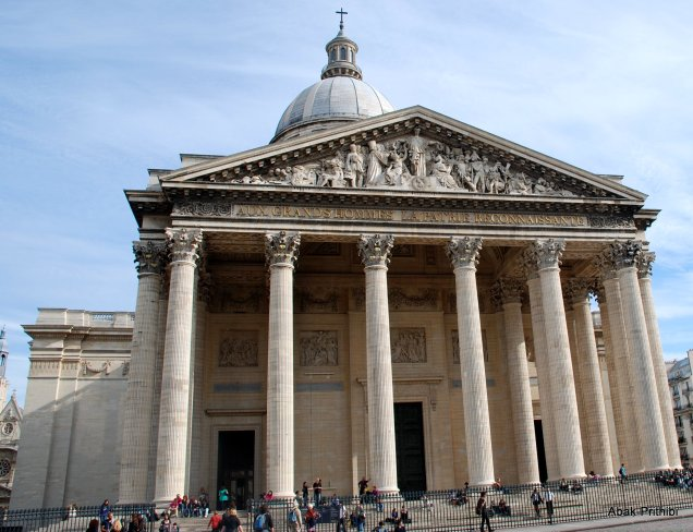 The Panthéon, Latin Quarter, Paris (1)