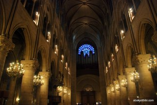 The pipe organ, Notre Dame, Paris, France, Europe (2)