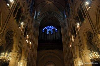 The pipe organ, Notre Dame, Paris, France, Europe (3)