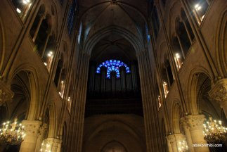 The pipe organ, Notre Dame, Paris, France, Europe (3)