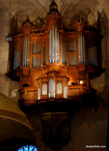 The pipe organ, Toulouse, France, Europe (1)