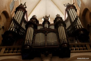 The pipe organ, Toulouse, France, Europe (4)