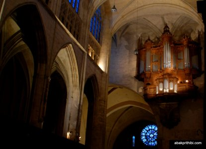 The pipe organ, Toulouse, France, Europe (5)