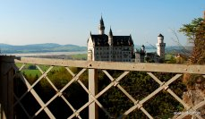 View from Queen Mary's Bridge, Bavaria, Germany (1)