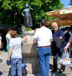Liesl-Karlstadt, The Viktualienmarkt, Munich, Germany
