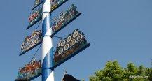 Maypole, Viktualienmarkt, Munich, Germany (1)