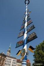 Maypole, Viktualienmarkt, Munich, Germany (2)