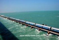 The Pamban Bridge, Rameswaram, India (1)