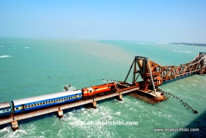 The Pamban Bridge, Rameswaram, India (10)