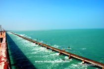 The Pamban Bridge, Rameswaram, India (2)