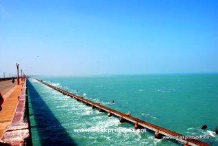 The Pamban Bridge, Rameswaram, India (3)