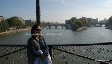 By the lovely river Seine, Paris, France (1)