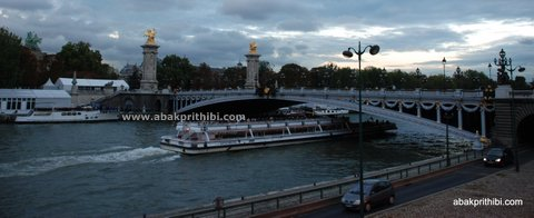 By the lovely river Seine, Paris, France (2)