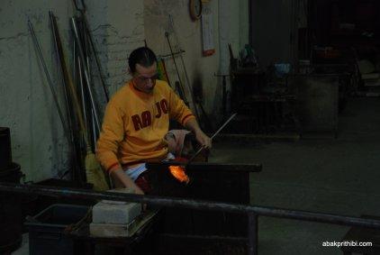Glasswork Technique of Murano, Italy (10)